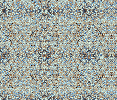 Moth Mosaic fabric by amyvail on Spoonflower - custom fabric