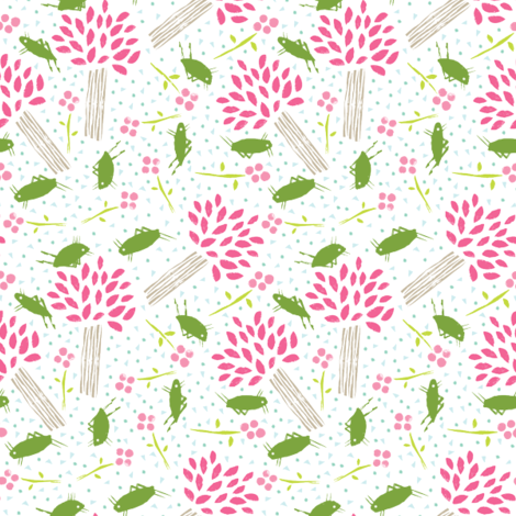 crickets fabric by jenngoodrich on Spoonflower - custom fabric
