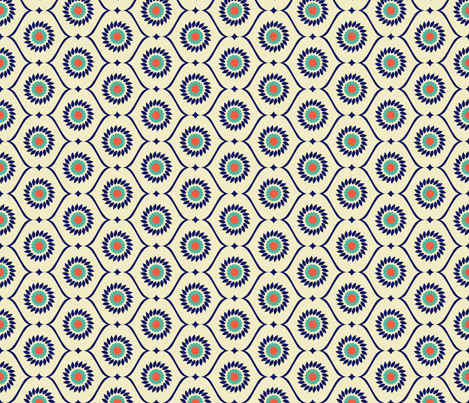 gloriosas_bright fabric by holli_zollinger on Spoonflower - custom fabric