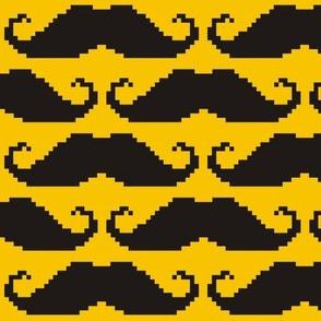 8-bit Moustache