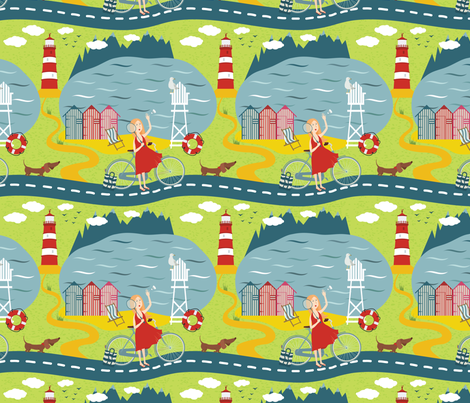 Highways_and_byways fabric by nenilkime on Spoonflower - custom fabric
