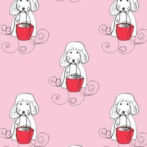 Spoodle Noodle Pink Red