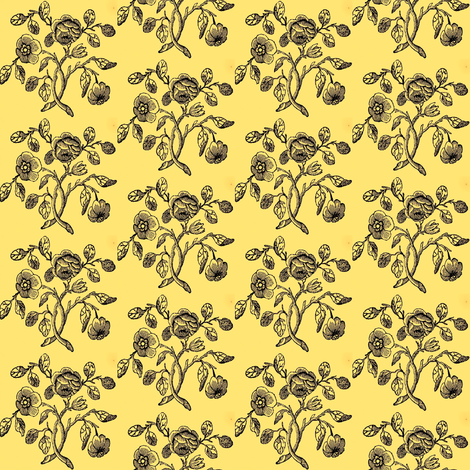 Caslon Rose fabric by amyvail on Spoonflower - custom fabric