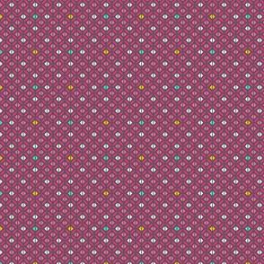 Arabian Squares Pink
