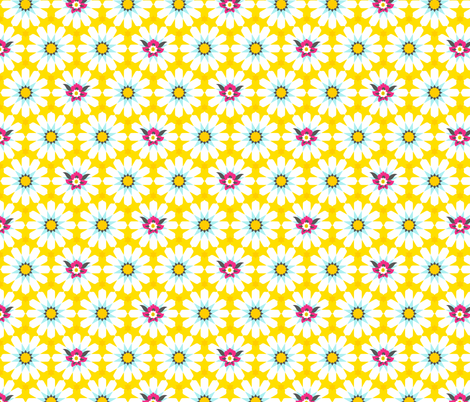 Arabian Tiles Yellow fabric by zesti on Spoonflower - custom fabric