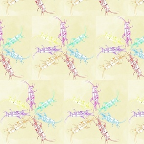 Lemon dancing crickets