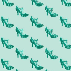 dottie-delight in teal