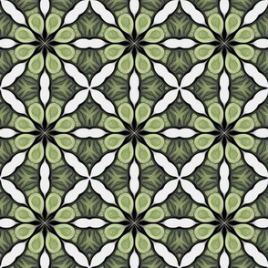 Emerald Green Irish Tile