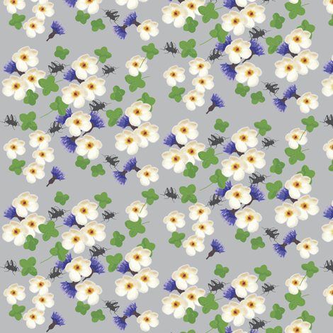 Crickets fabric by brutiful on Spoonflower - custom fabric