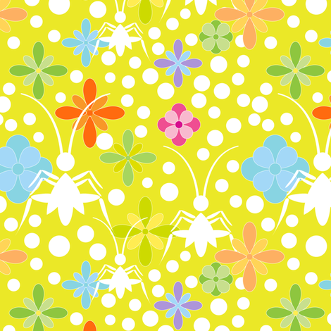 crickets_1 fabric by stella12 on Spoonflower - custom fabric