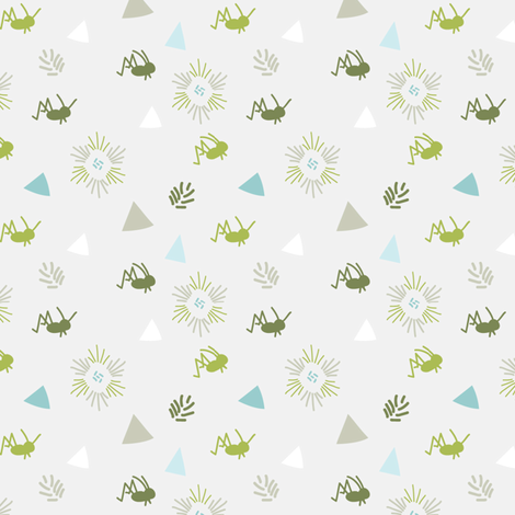 cricket5 fabric by thinkingaboutpretty on Spoonflower - custom fabric