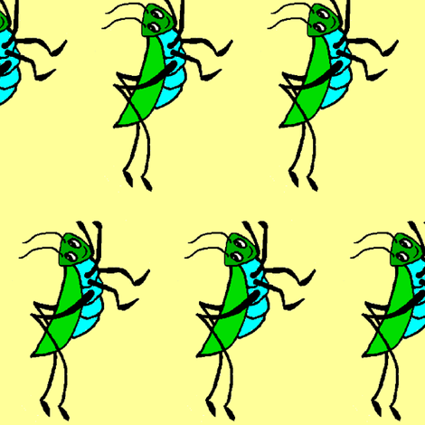 converting_crickets_1 fabric by taybird on Spoonflower - custom fabric