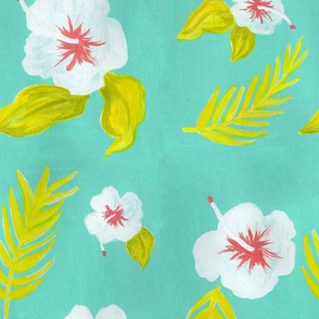 Hawaiian Hibiscus Pattern