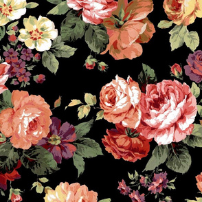KH_0231-Antique Floral-BK