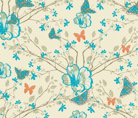Spring Eternal fabric by amyteets on Spoonflower - custom fabric