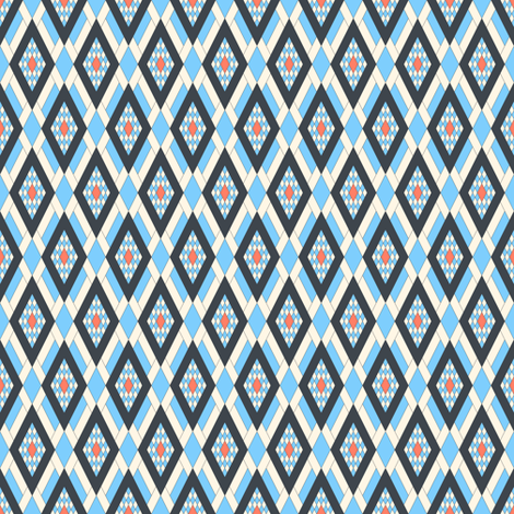 Derby Diamond fabric by mag-o on Spoonflower - custom fabric