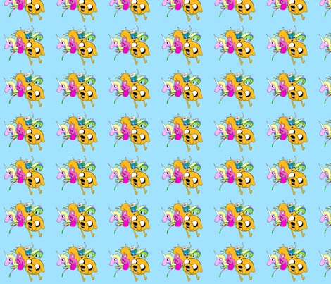 adventure-time-001 fabric by cala4899 on Spoonflower - custom fabric