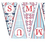 Summer Banner Pennant Nautical