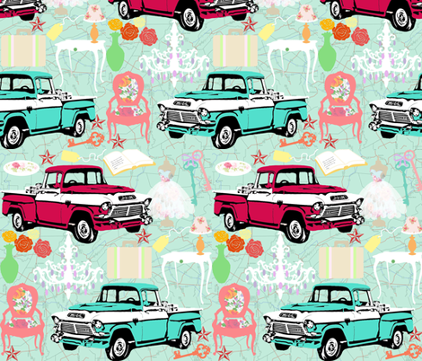 Antiquing fabric by graceful on Spoonflower - custom fabric