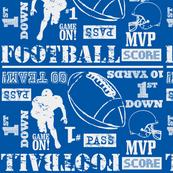 blue/white football-ch