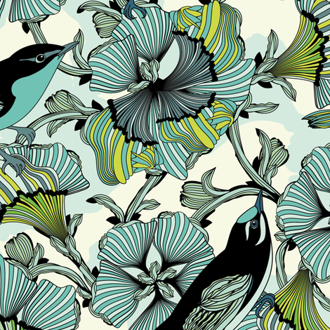 Lavish Love fabric by sabine_reinhart on Spoonflower - custom fabric