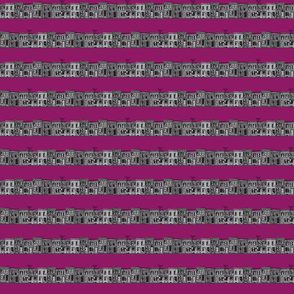 Rowhomes in grey and magenta- REVISED