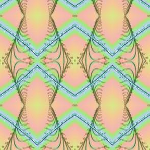 Zigzag Pastel Rainbow