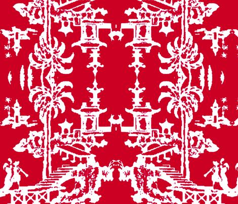 Escher pagoda radish