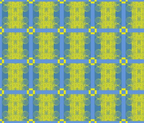 randi_antonsen_under_the_yellow_star fabric by claravox on Spoonflower - custom fabric