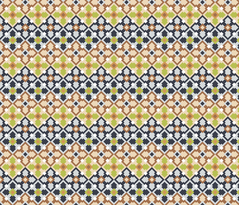 flowerbits fabric by ellila on Spoonflower - custom fabric