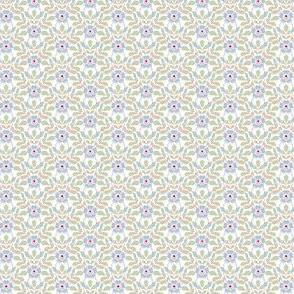 Briar Rose - blue and pink
