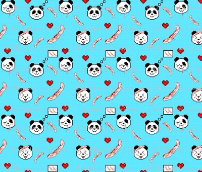 Pandas Love Bacon