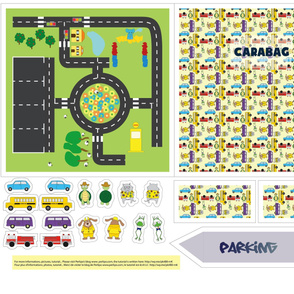 Carabag Pattern - Foldable Play Mat