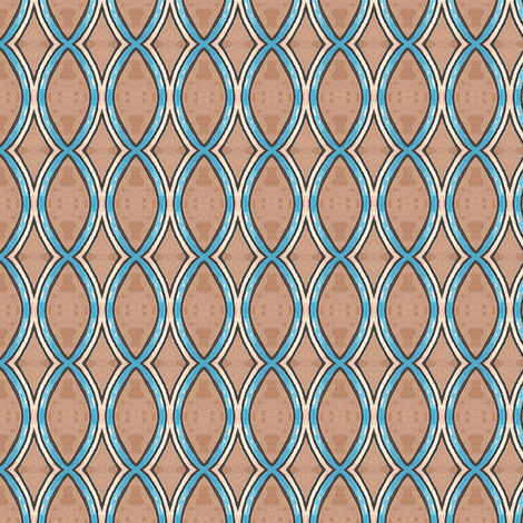 Dreamwood Cell fabric by siya on Spoonflower - custom fabric