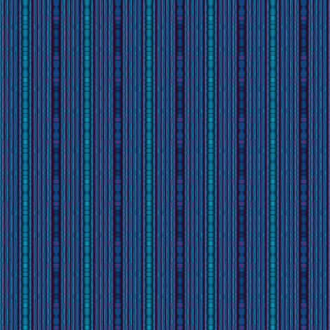 Blue Beaded Look Stripe Vertical © Gingezel™ 2014