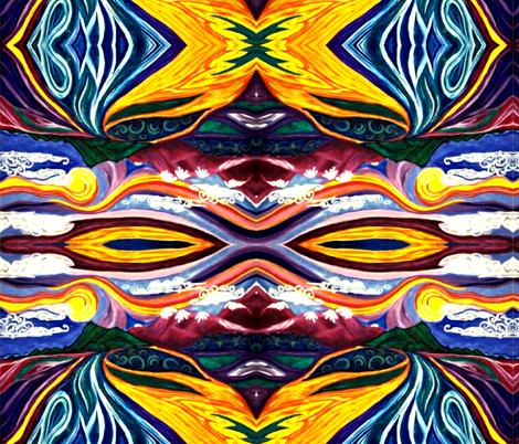 marzlene_in_heaven_lives-ed fabric by marzlene'z_eye_candy on Spoonflower - custom fabric