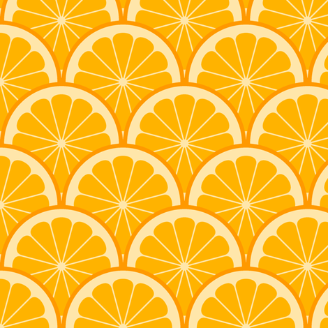 citrus scale 1x X fabric by sef on Spoonflower - custom fabric