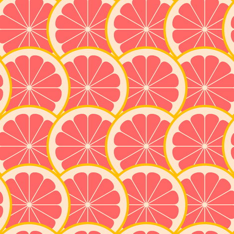citrus scale 1g fabric by sef on Spoonflower - custom fabric