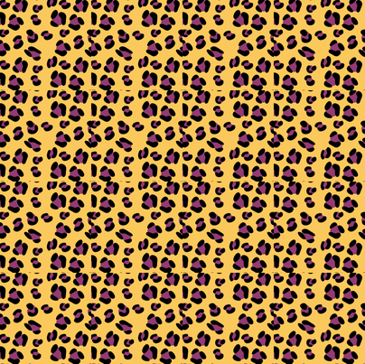 Print-Leopard-crazy fabric by terriaw on Spoonflower - custom fabric