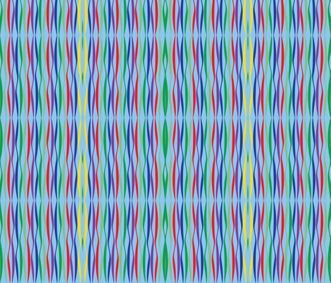 Zebra Animal Print-Brights fabric by terriaw on Spoonflower - custom fabric