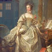 Madame de Pompadour circa 1750