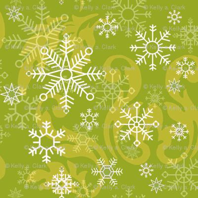 Lime_Snowflake