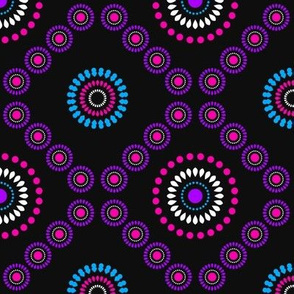African Zigzag (Purple)