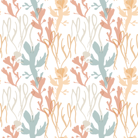 welsh seaweed_2 fabric by bee&lotus on Spoonflower - custom fabric