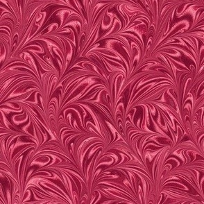 Metallic-Red-Swirl