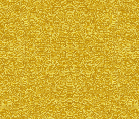 Metallic-Yellow-Stone fabric by modernmarblingdesign on Spoonflower - custom fabric