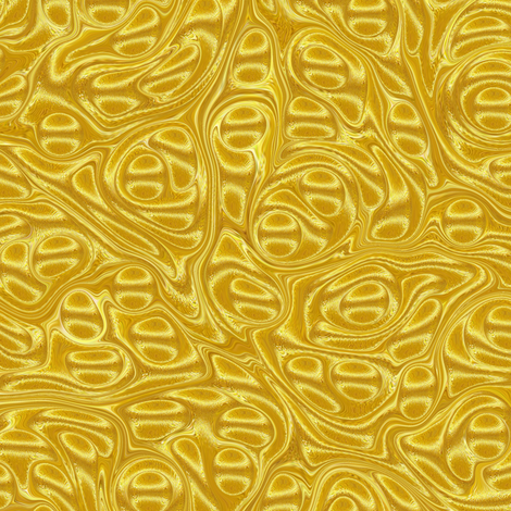 Metallic-Yellow-Stone fabric by modernmarbling on Spoonflower - custom fabric