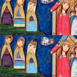 Nativity III with Wise Men
