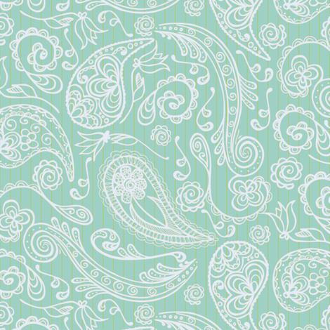 Breezy Paisley Light