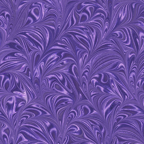 Metallic-Purple-Swirl fabric by modernmarbling on Spoonflower - custom fabric